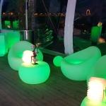 fauteuils lumineux