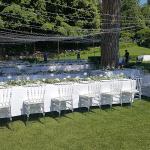 mise en place diner mariage